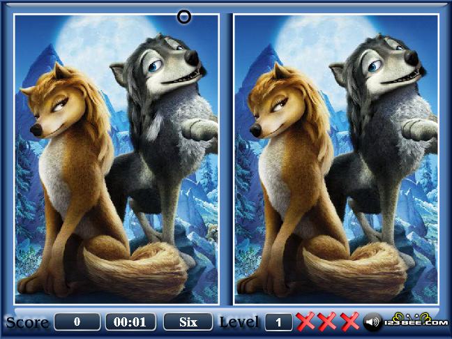 Alpha Difference Screenshot