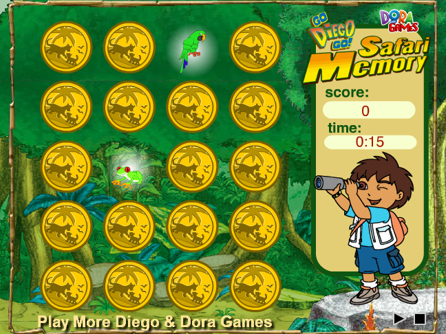 Diego Safari Memory Screenshot