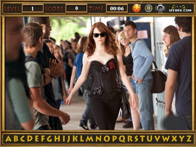 Easy A Find The Alphabets Screenshot
