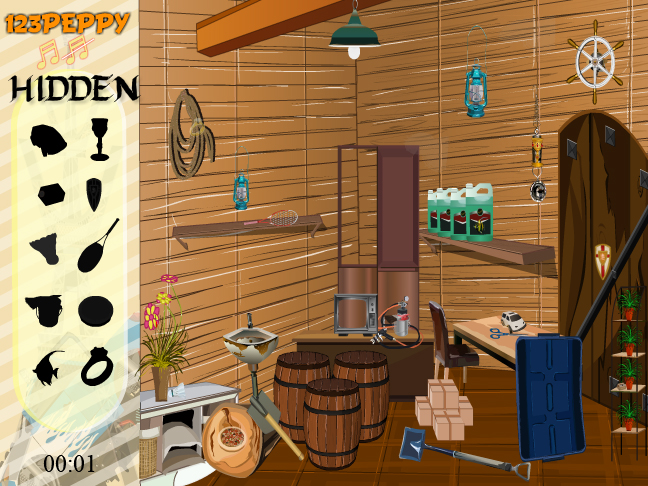 Find The Objects In Store Room Screenshot