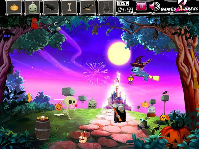 Hidden Halloween Party Screenshot
