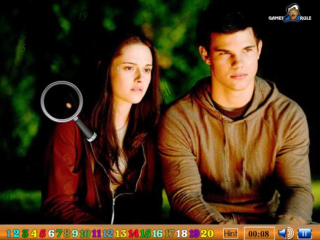 Hidden Numbers Twilight Saga Eclipse Screenshot