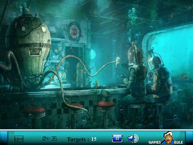 Hidden Seahorse Screenshot