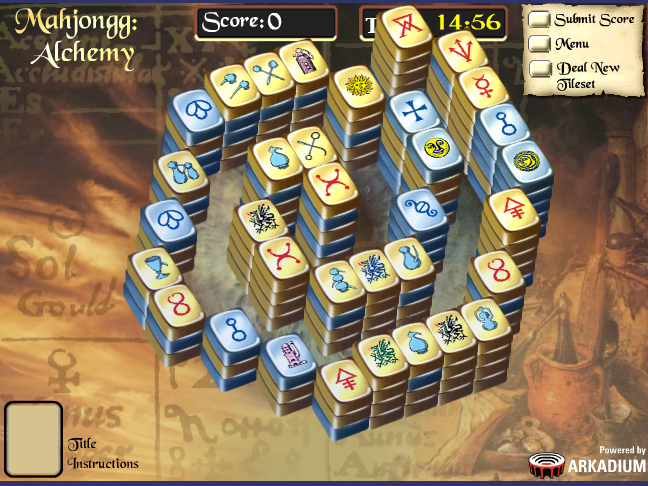Mahjong Alchemy Screenshot