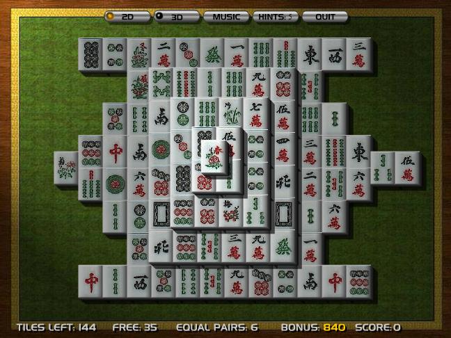 Mahjong Dimensions 3D Screenshot