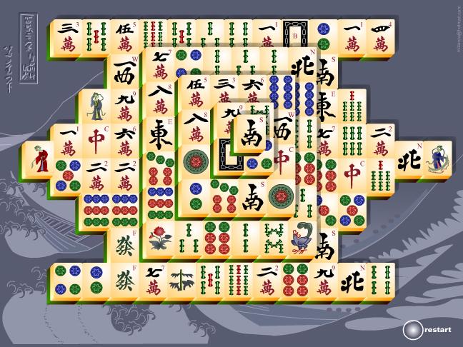 Mahjong Titans Screenshot