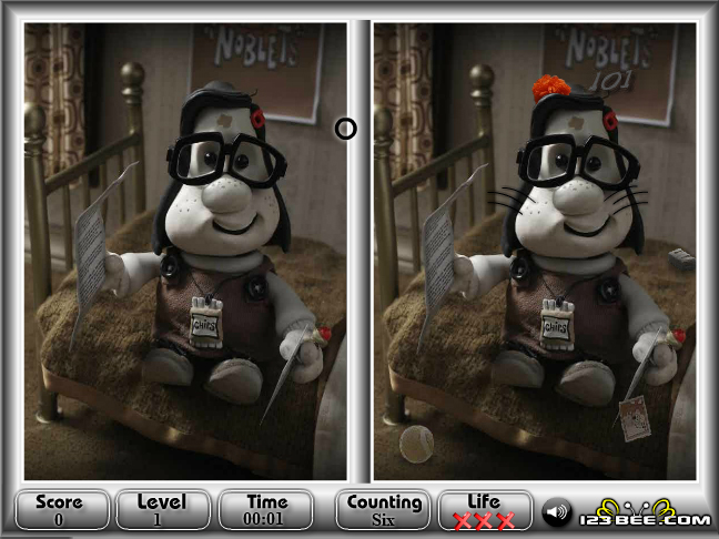 Mary Max Spot Difference Screenshot