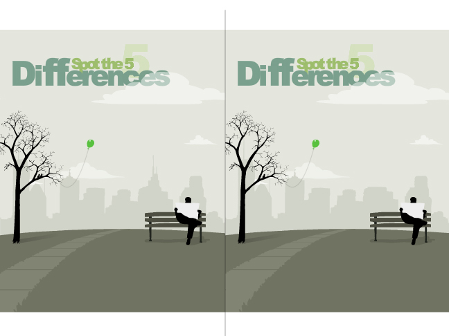 Spot The 5 Differences Screenshot