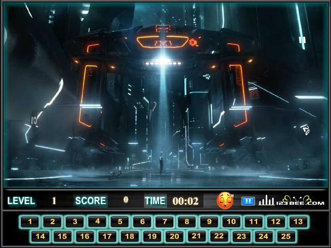 Tron Find The Numbers Screenshot